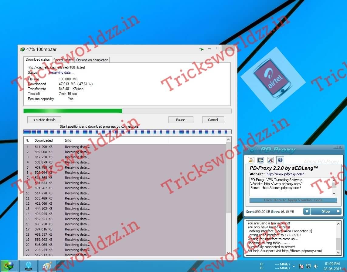 AirTel Unlimited Internet Trick