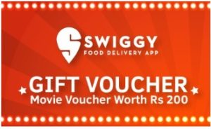 Swiggy Movie Voucher