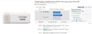 eBay Flash Sale Pendrive