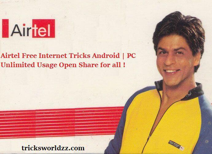 Airtel Free Internet Tricks Android