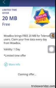 Get Free Daily Internet Data Credit
