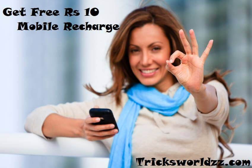 Download Free Recharge App & Get Rs 10 Recharge