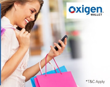 Oxigen Wallet App Offers - Rs 100 Cashback On Rs.500