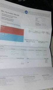 Reliance Jio Sends Bill amount Rs 27718