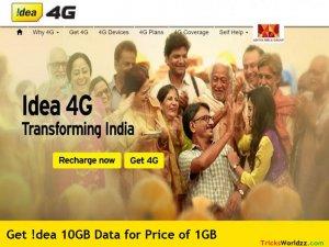 Idea 10 GB at 1GB Price