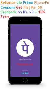 Get Flat Rs 25 Cashback PhonePE on First Three DTH Recharges