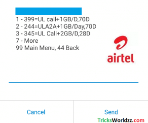 Airtel Rs 244 Plan Get 1GB Free Internet Data Special Offer