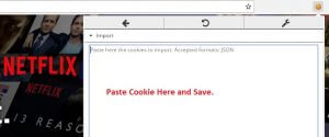 Netflix Premium Account Hourly Updates editmycookie Paste cookie.