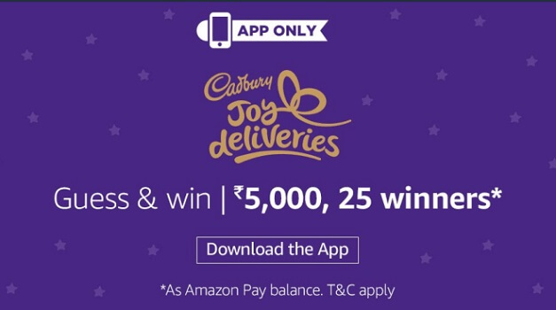 Amazon Cadbury Contest