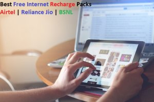 Best Free Internet Recharge Packs Airtel Reliance Jio BSNL