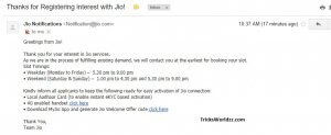 Reliance Jio Email