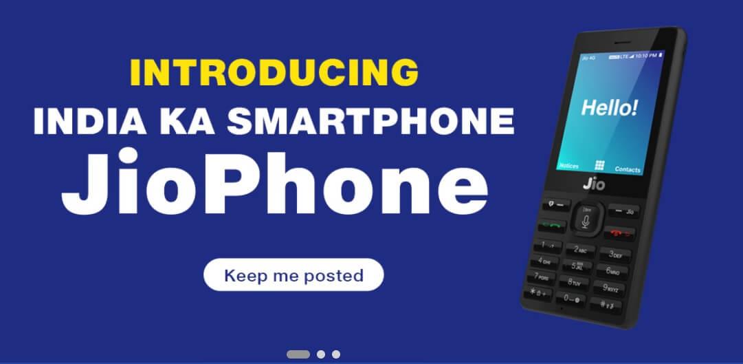 Reliance JioPhone Online Booking | JioPhone Pre Registration