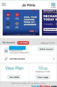 Get Reliance Jio Extra 10GB Free Internet Data - Xiaomi