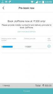 Book JioPhone Now