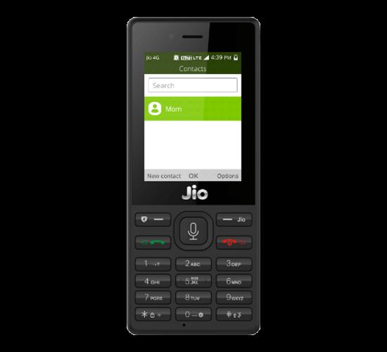 JioPhone New