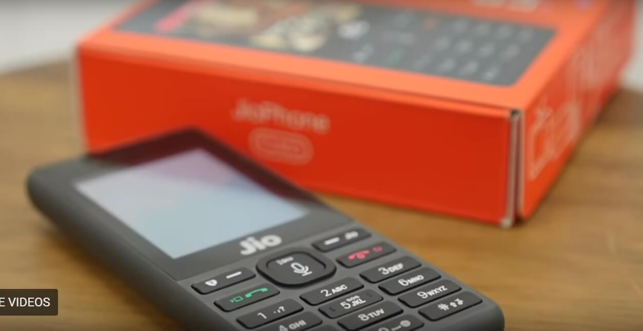 Reliance Jio Discontinued Making KaiOS Based JioPhone