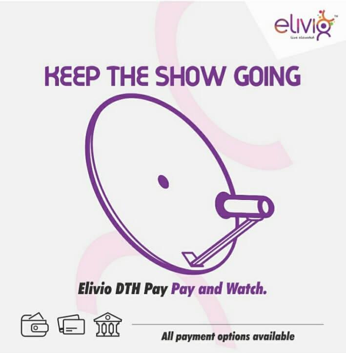 DTH Recharge Offers Get Rs 50 Cashback - Elivio App