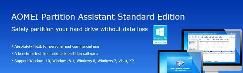 Safely Partition Your Hard Drive With AOMEI Partition Assistant 6.5