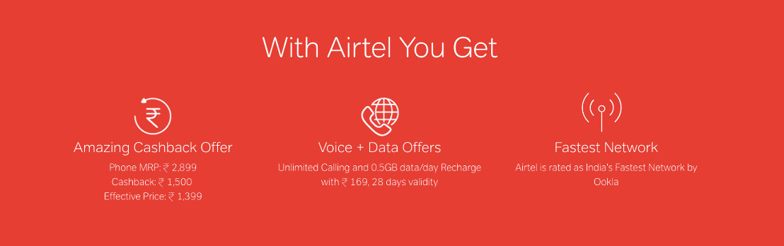 All about Airtel 4G Smartphone