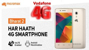 Vodafone Rs 999 4G Feature Phone with Micromax