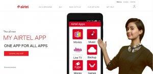 Get flat 50% Cashback – Airtel.