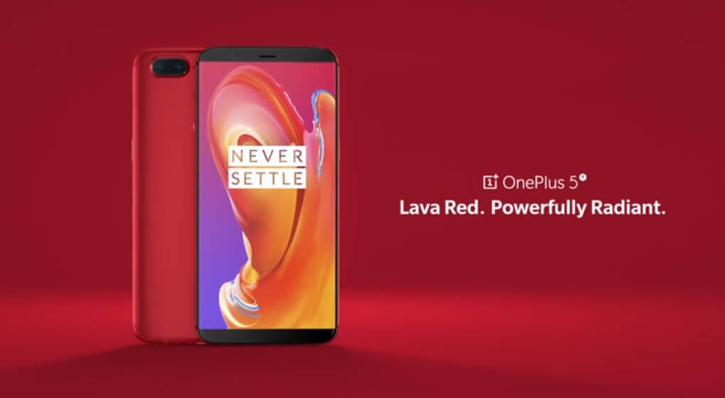 OnePlus 5T Lava Red Variant