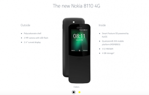 JioPhone will now Compete with Nokia 8110 Banana Phone Specifications