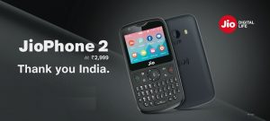 Know about New JioPhone 2 Specifications
