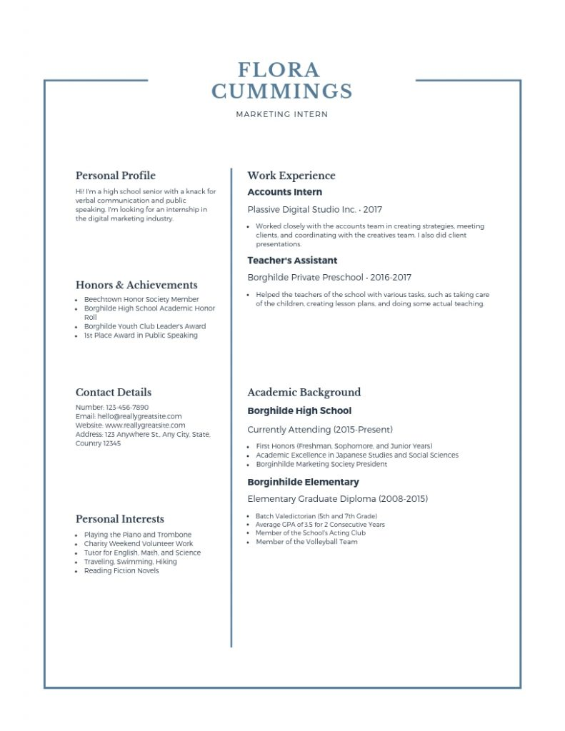 create job ready resume a fresher u0026 39 s guide